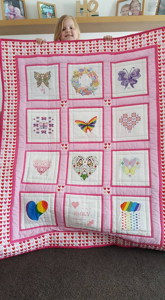 Photo of Emily B's quilt