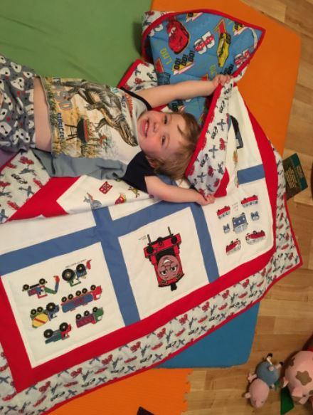 Photo of Benjamin M's quilt