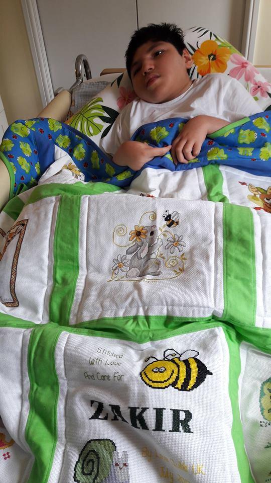 Photo of Zakir's quilt
