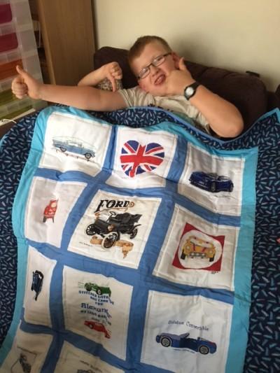 Photo of Alexander K's quilt