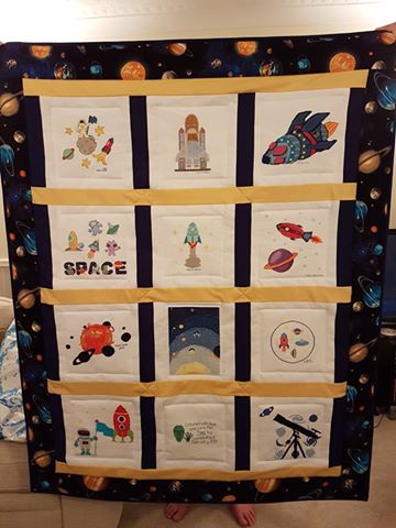 Photo of Theo C's quilt