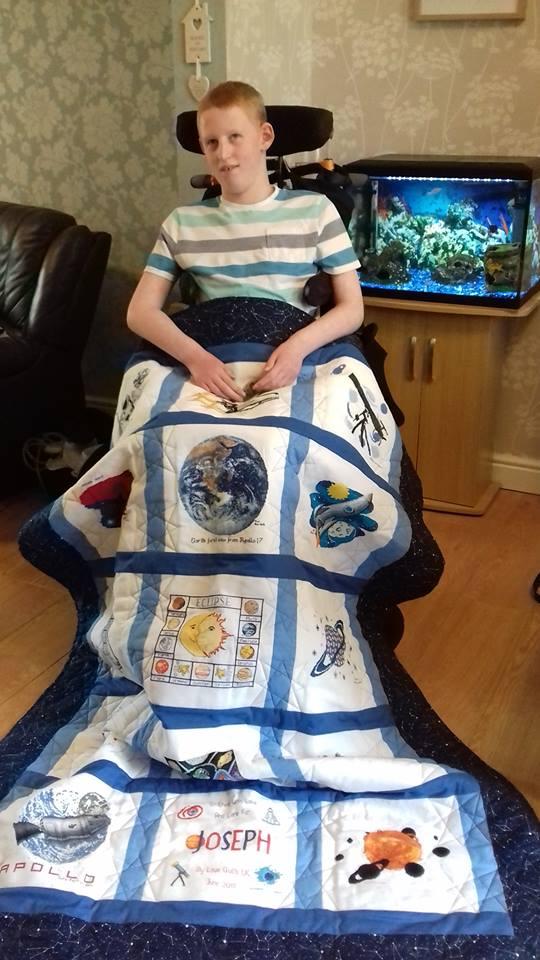 Photo of Joseph B's quilt