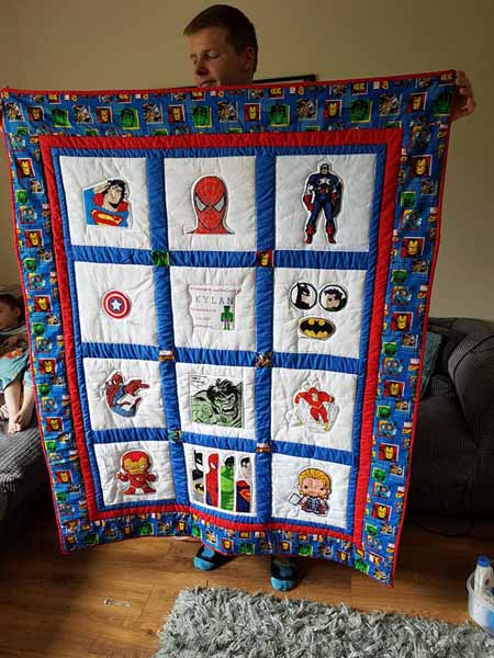 Photo of Kylan J's quilt