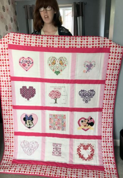Photo of Briony N's quilt