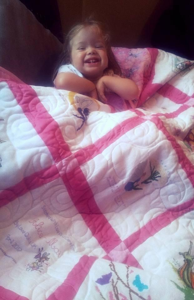 Photo of Alice-Mai's quilt