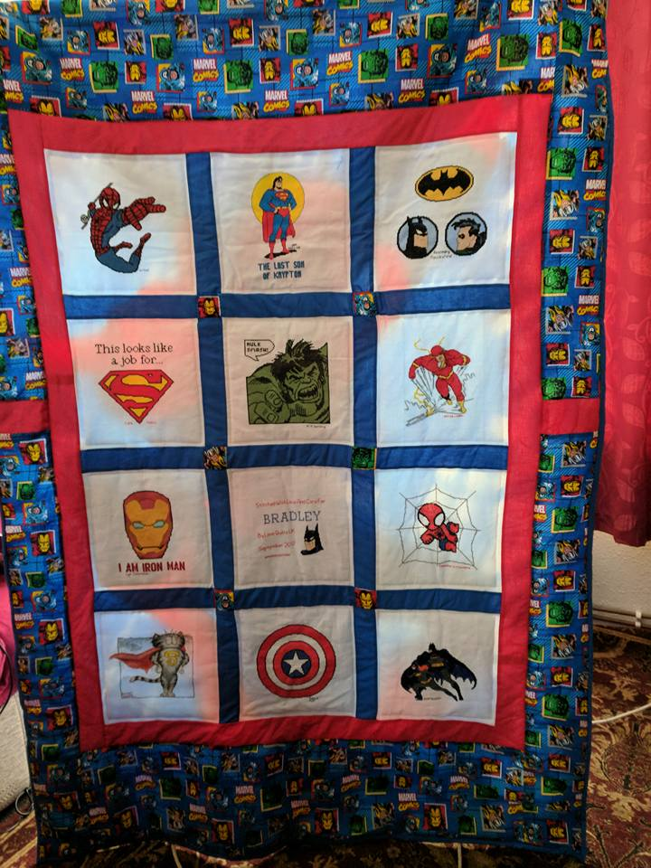 Photo of Bradley B's quilt