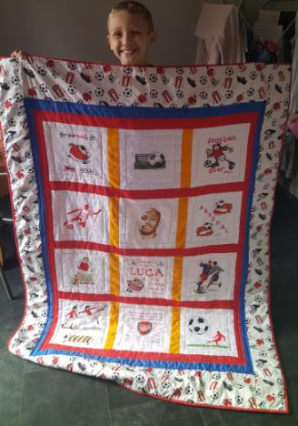 Photo of Luca R's quilt