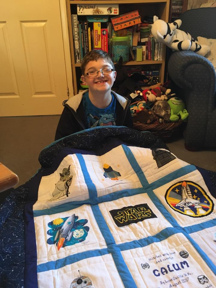 Photo of Calum M's quilt