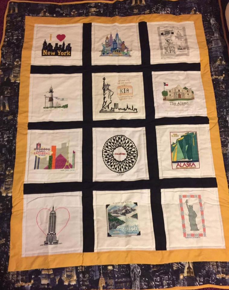 Photo of Kia B's quilt