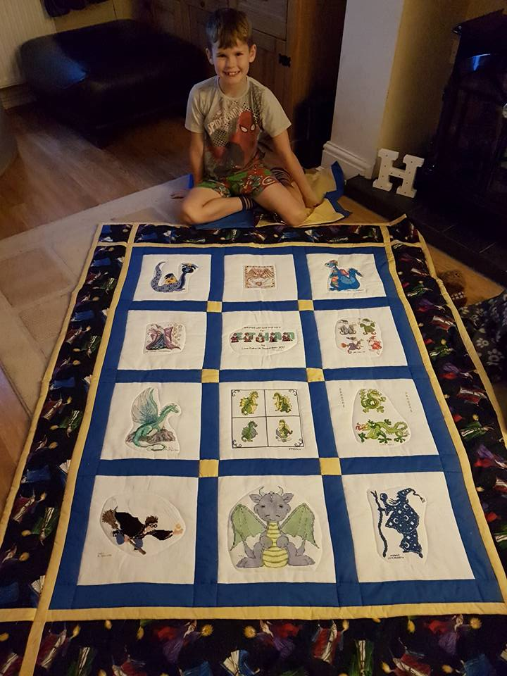 Photo of Ethan T's quilt