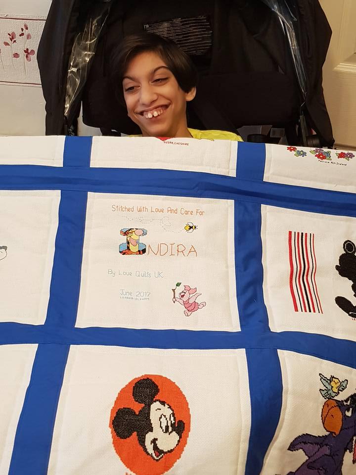 Photo of Indira's quilt