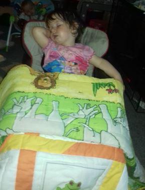 Photo of Gabriella's quilt