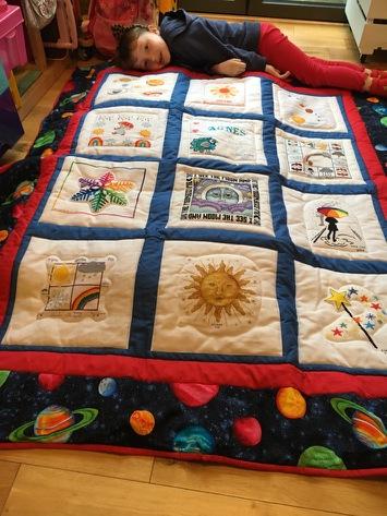 Photo of Agnes P's quilt