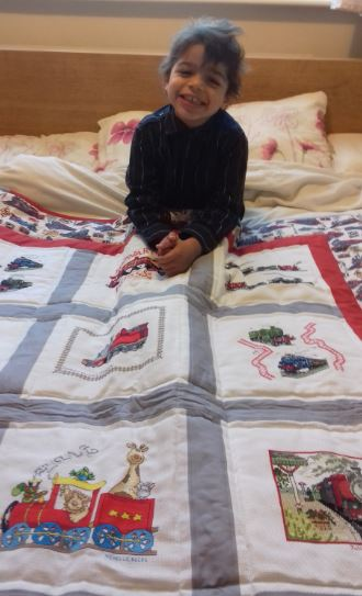 Photo of Isaac K's quilt