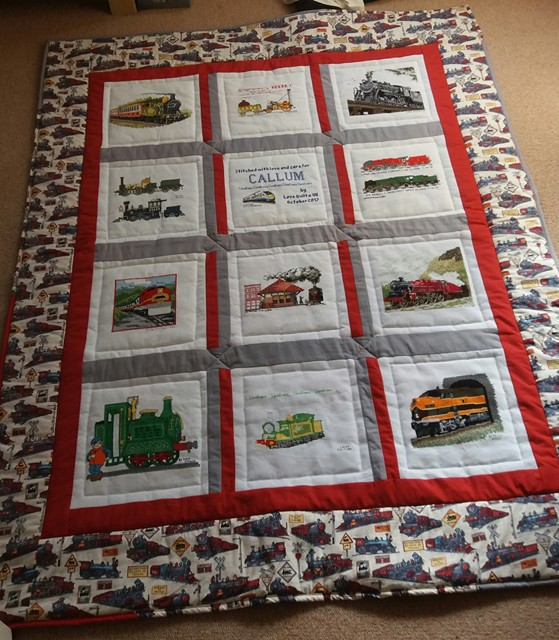 Photo of Callum B's quilt