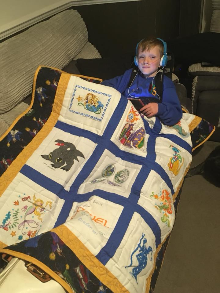 Photo of Samuel M's quilt