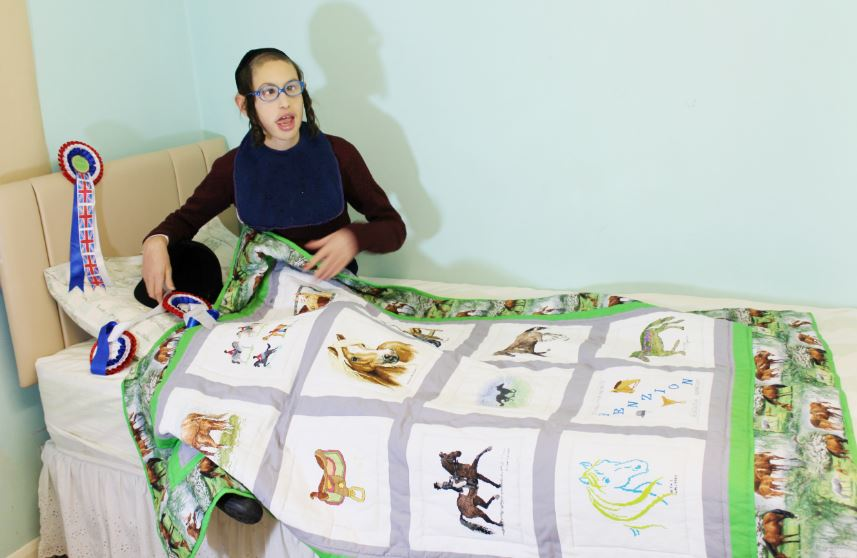 Photo of Benzion B's quilt