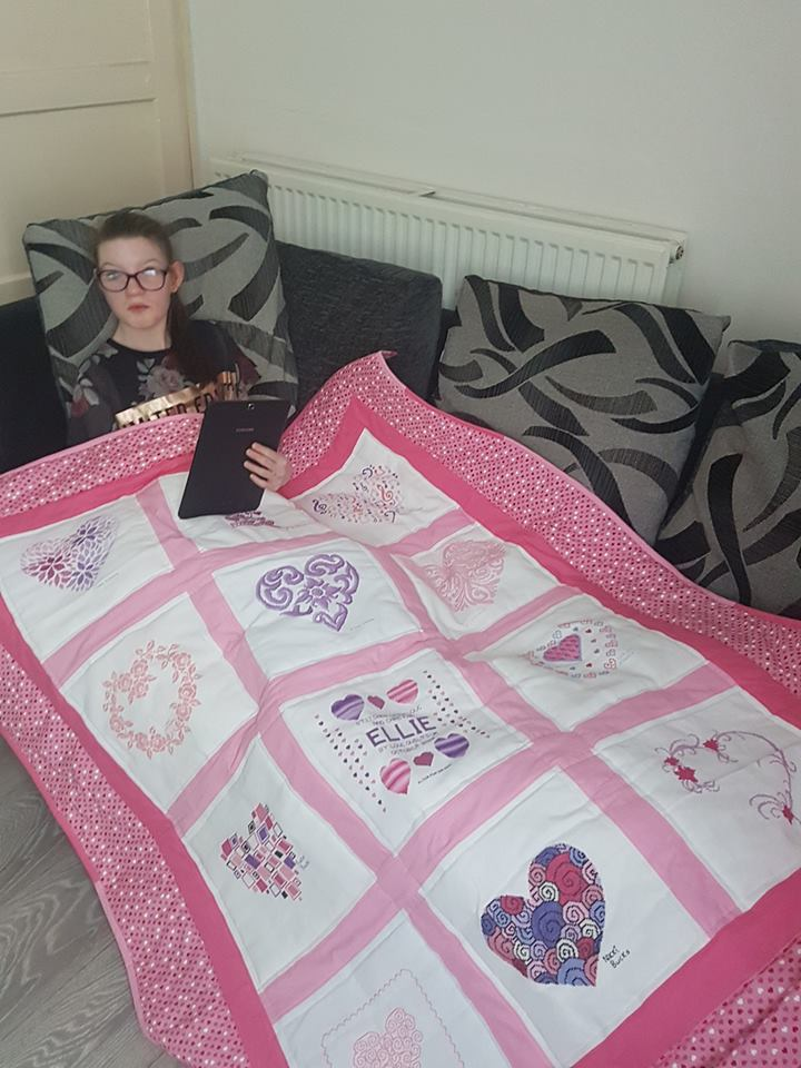 Photo of Ellie C's quilt