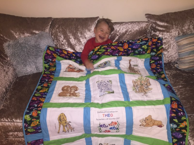 Photo of Theo B's quilt