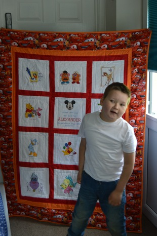 Photo of Alexander J's quilt