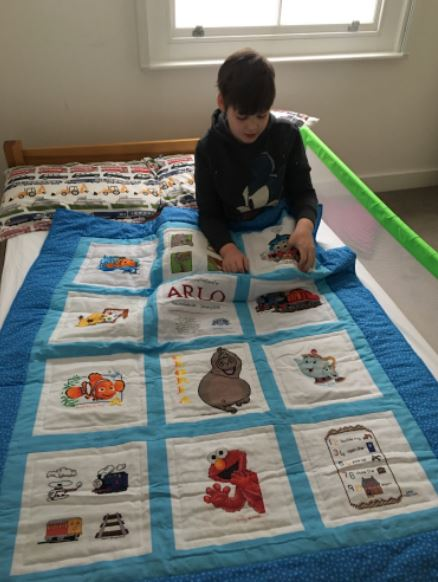 Photo of Arlo W's quilt