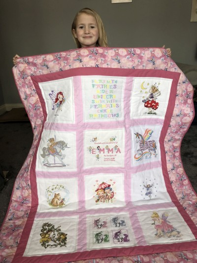 Photo of Emma F's quilt