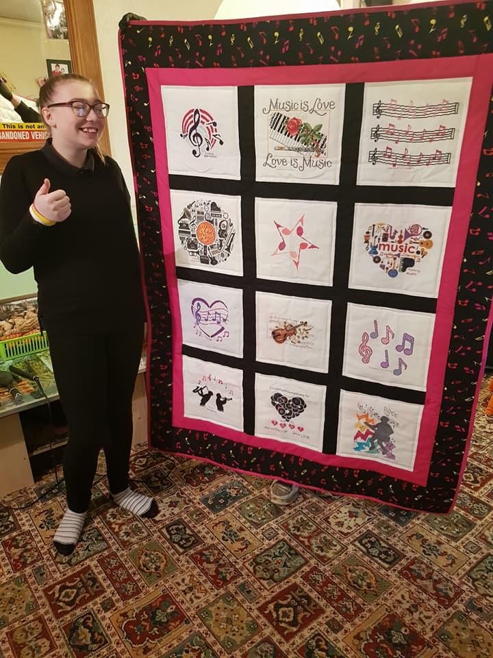 Photo of Toni C's quilt