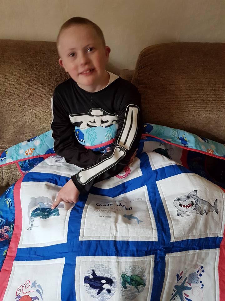 Photo of Cody-John's quilt