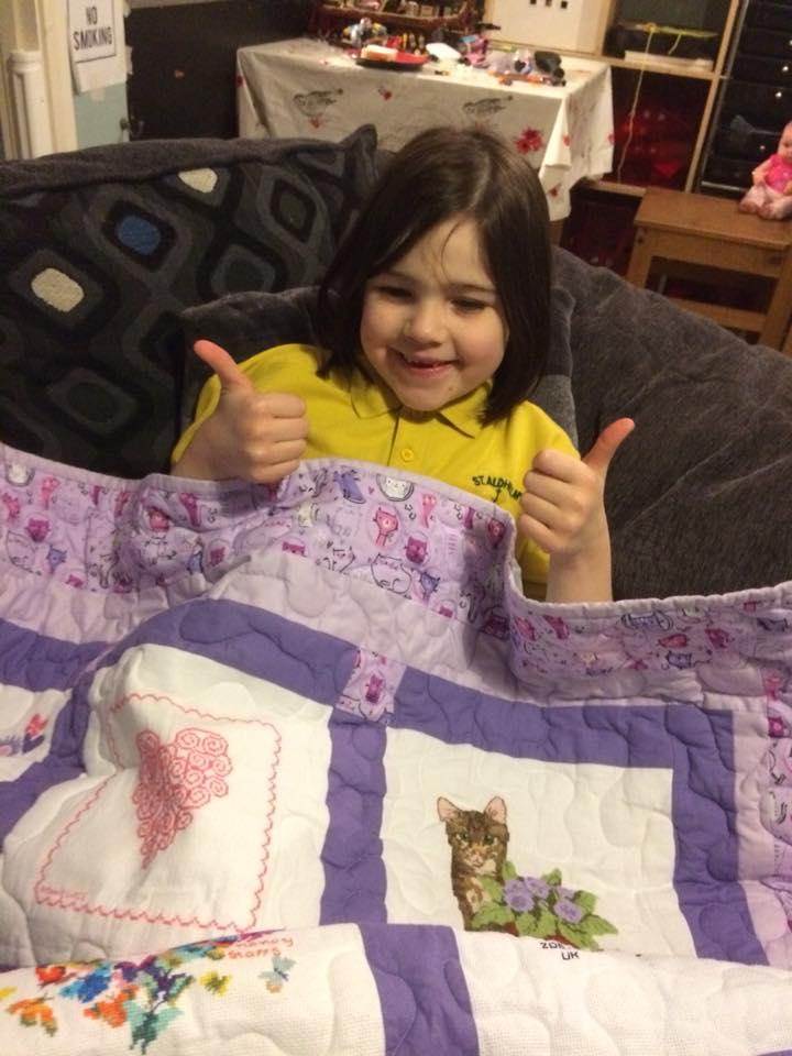 Photo of Ellie P's quilt