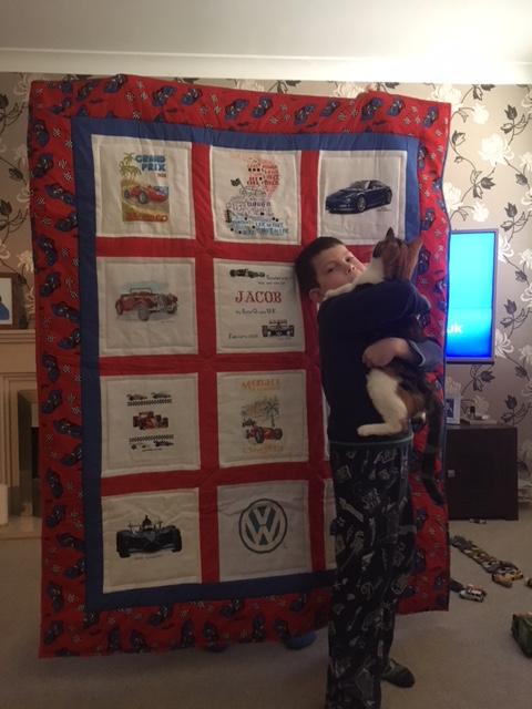 Photo of Jacob L's quilt