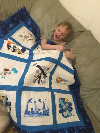 Photo of Robert B's quilt