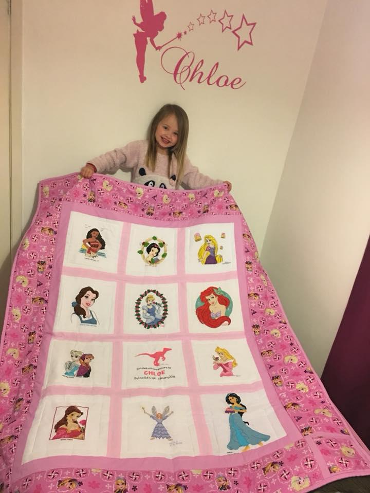 Photo of Chloe C's quilt