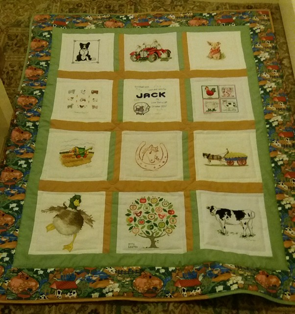 Photo of Jack J's quilt