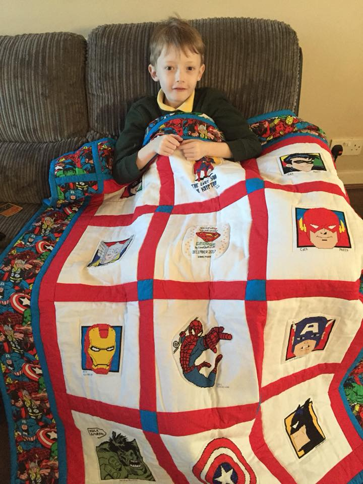 Photo of George G's quilt