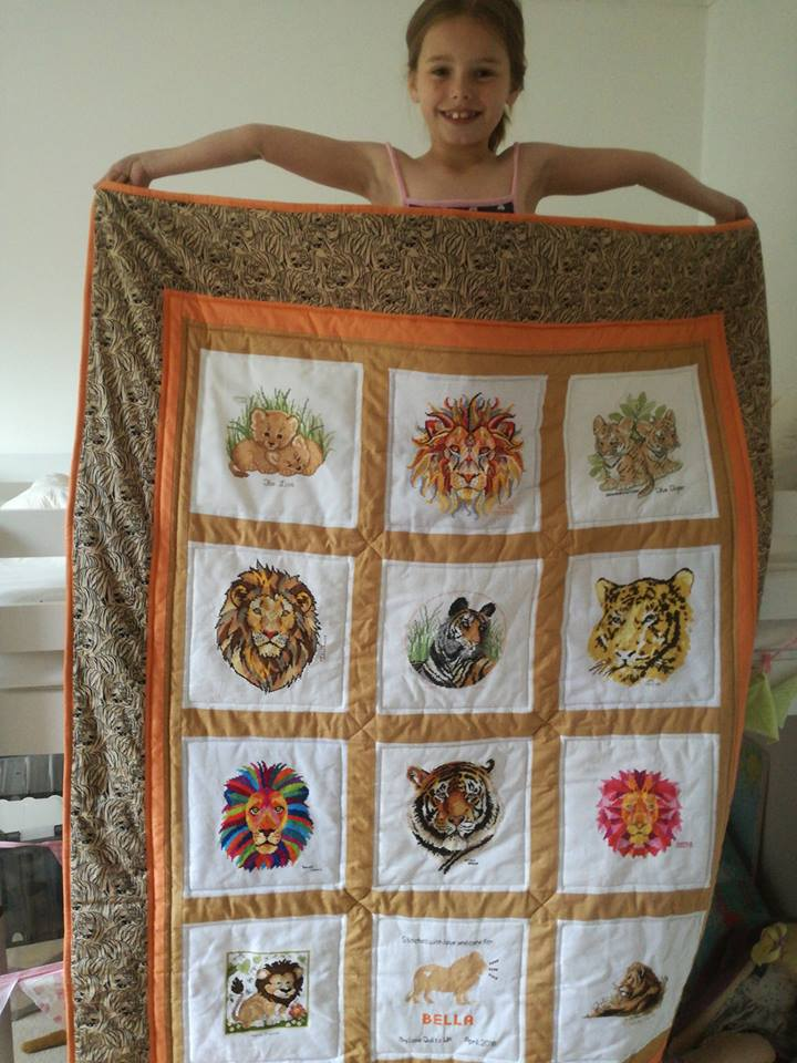 Photo of Bella T's quilt