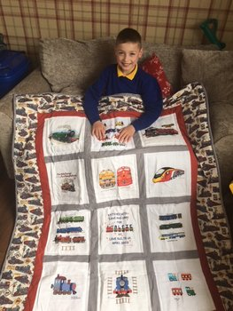 Photo of Alfie J's quilt