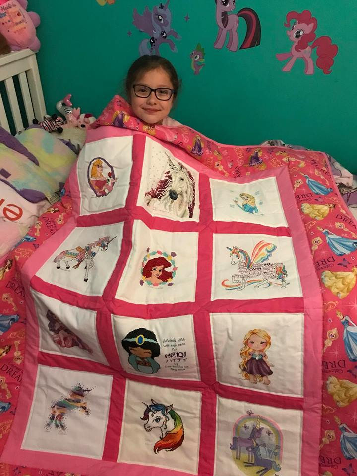 Photo of Heidi-Lee's quilt