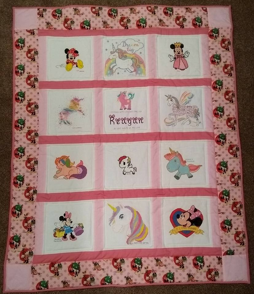 Photo of Reagan D's quilt
