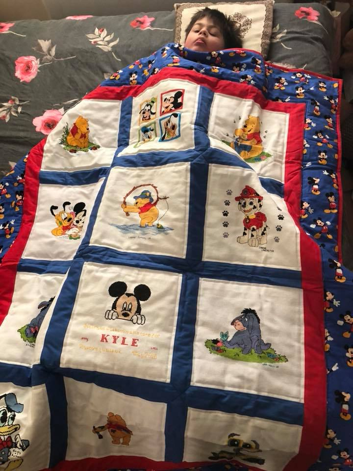 Photo of Kyle A's quilt