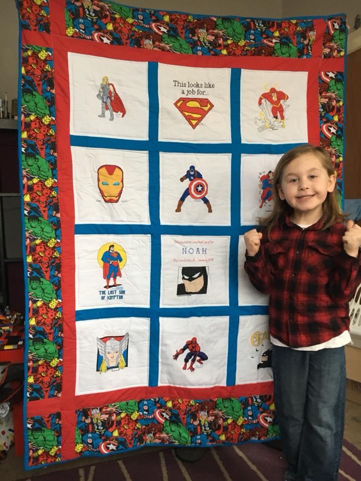 Photo of Noah D's quilt