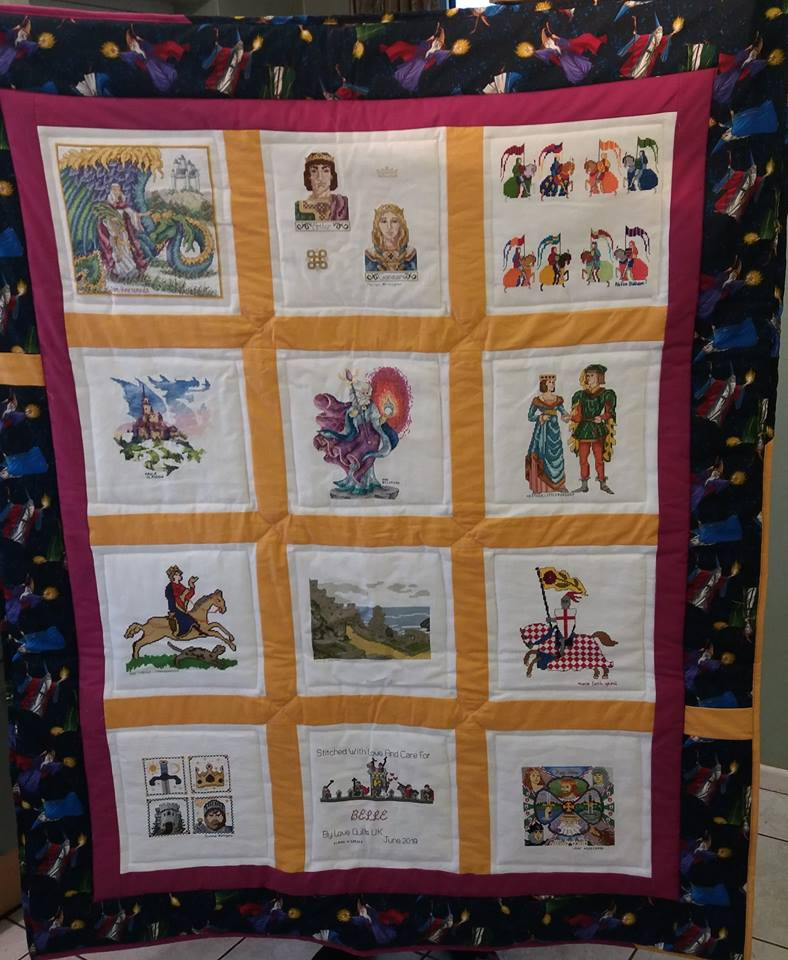 Photo of Belle E's quilt