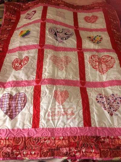Photo of Elisha T's quilt