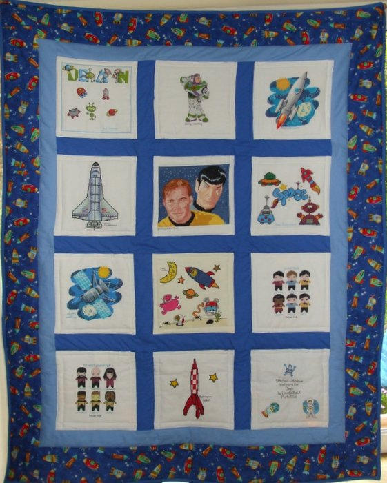 Photo of Dean B's quilt