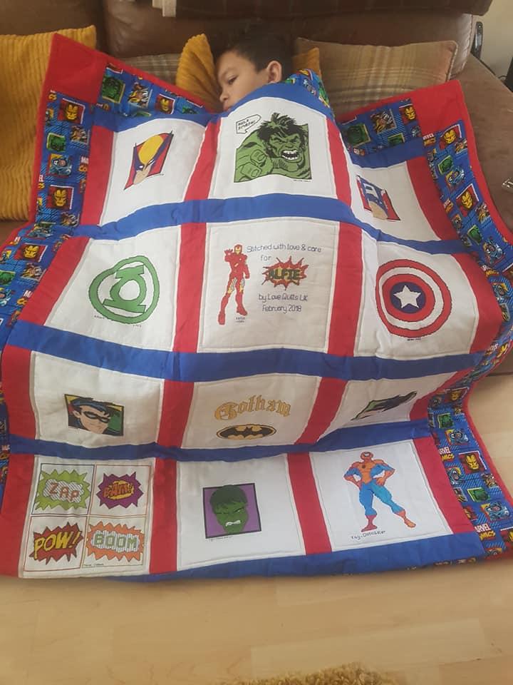 Photo of Alfie B's quilt