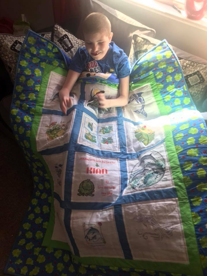 Photo of Kian W's quilt