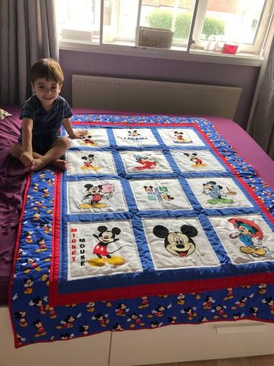 Photo of Adam B's quilt