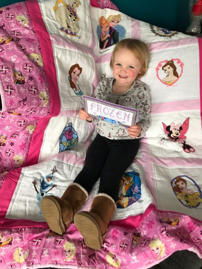 Photo of Olivia-Grace's quilt
