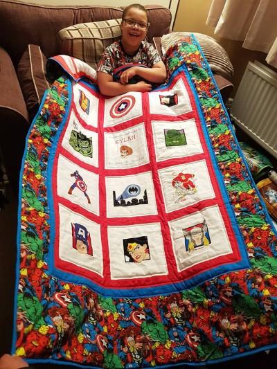 Photo of Kylan B's quilt