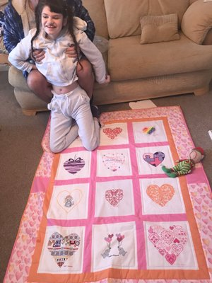 Photo of Millie-Mai's quilt