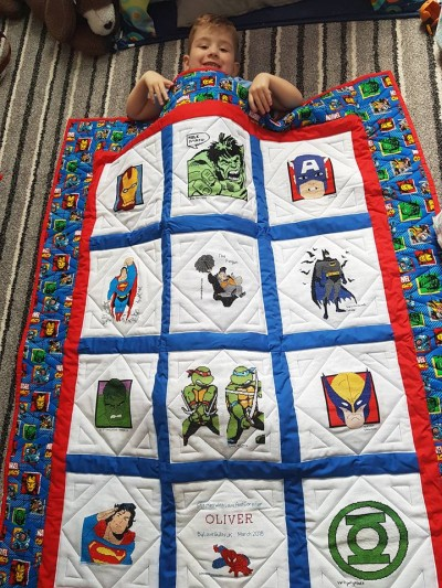 Photo of Oliver J's quilt